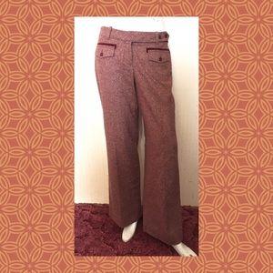 🌸Anthropologie Wool Wide Leg Trousers